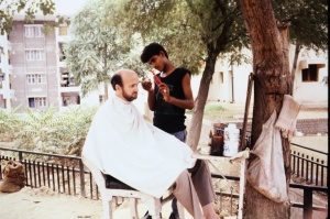 This was a fine experience, and a fine haircut! Notice he had little to do in my case.