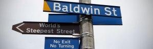 Baldwin Street, Dunedin, New Zealand, the World's Steepest Street