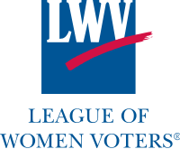 League of Women Voters logo. Under my proposal, they would only need to change one letter, at very low cost. :-)
