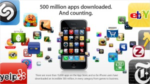 A few of the millions of apps available. (Source)