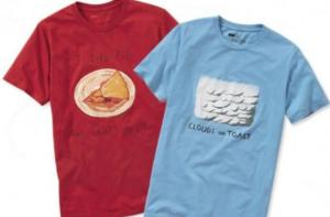 Some businesses give away T-shirts as part of their advertising budgets, but not restaurants. Why? (Source.)